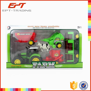 Brand new kids small tractor toy kids truck plastic toy for sale