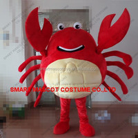 Life size giant red crab mascot costume for party cosplay adult crab mascot costume