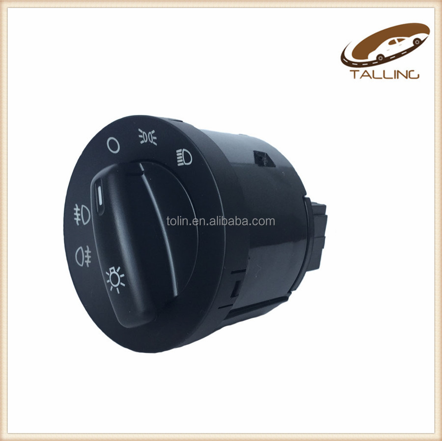 Auto Parts Headlight Switch Button For V W JETA TGUAN GOF OEM 5KD941431A 1T0941431C
