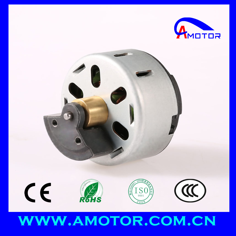 12V 240V DC massage vibrator motor with ball bearing, 45mm electric vibrating motor for massager