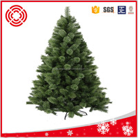 Wholesale 180cm artifical pvc and pine mixed tree for christmas decoratio