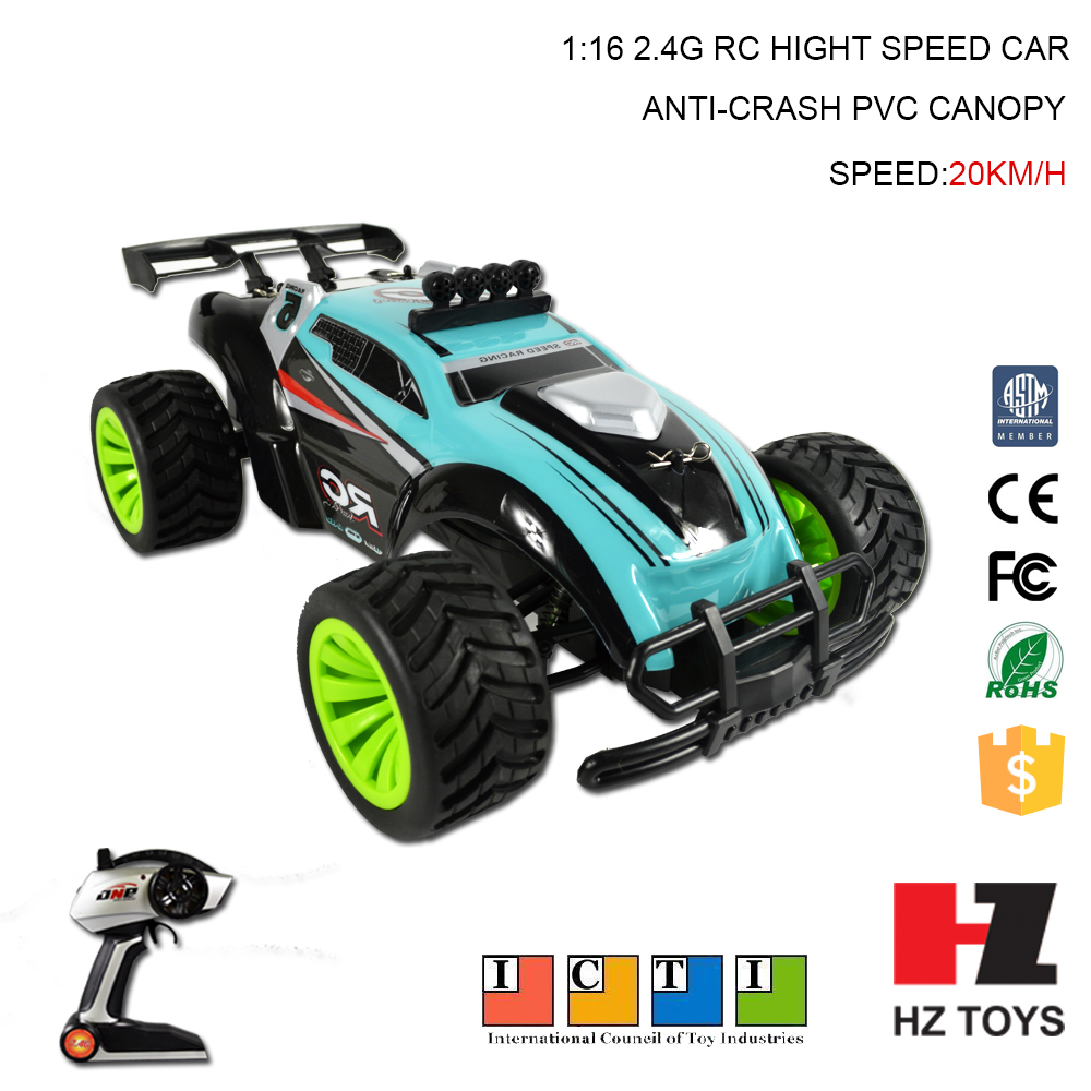 1:16 20km/h nitro rc remote control car 4x4 1/10 with damping system