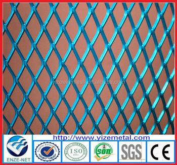 China Expanded Metal Mesh Expandable Sheet Diamond Decorative Screen