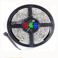 New Flexible 300 Pcs Red LED Strip Light 5m 16FT Glue Dropping Waterproof
