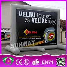 HI CE high quality inflatable display billboard/advertising rolling billboard for sale