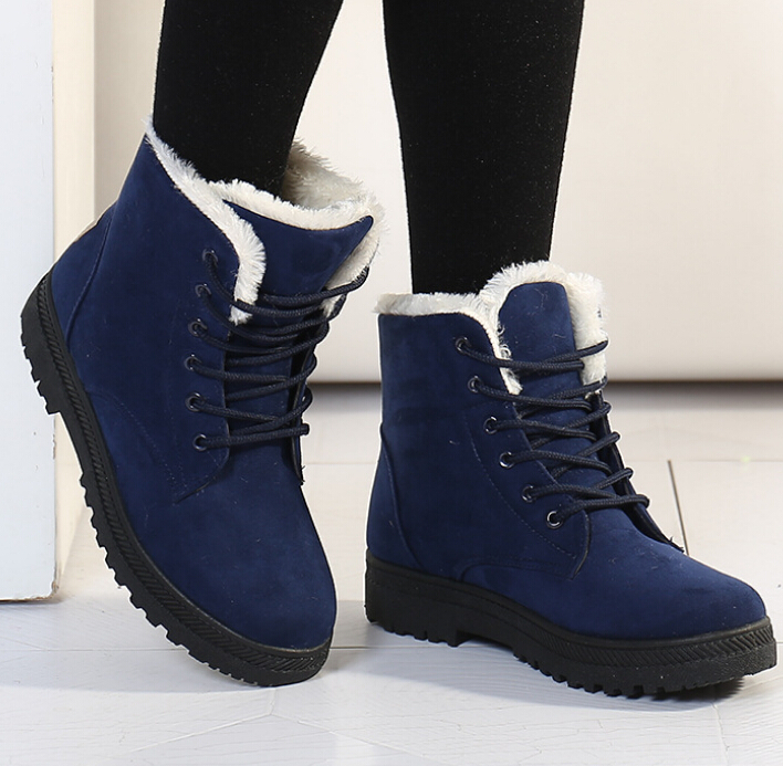 W91750a 2015 Winter Women Boots Cotton Boots Short Ankle Snow ...