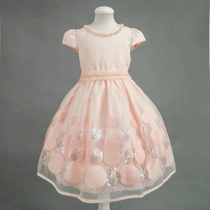 2016 Hot New Model Sequins baby girl party dress children frocks designs