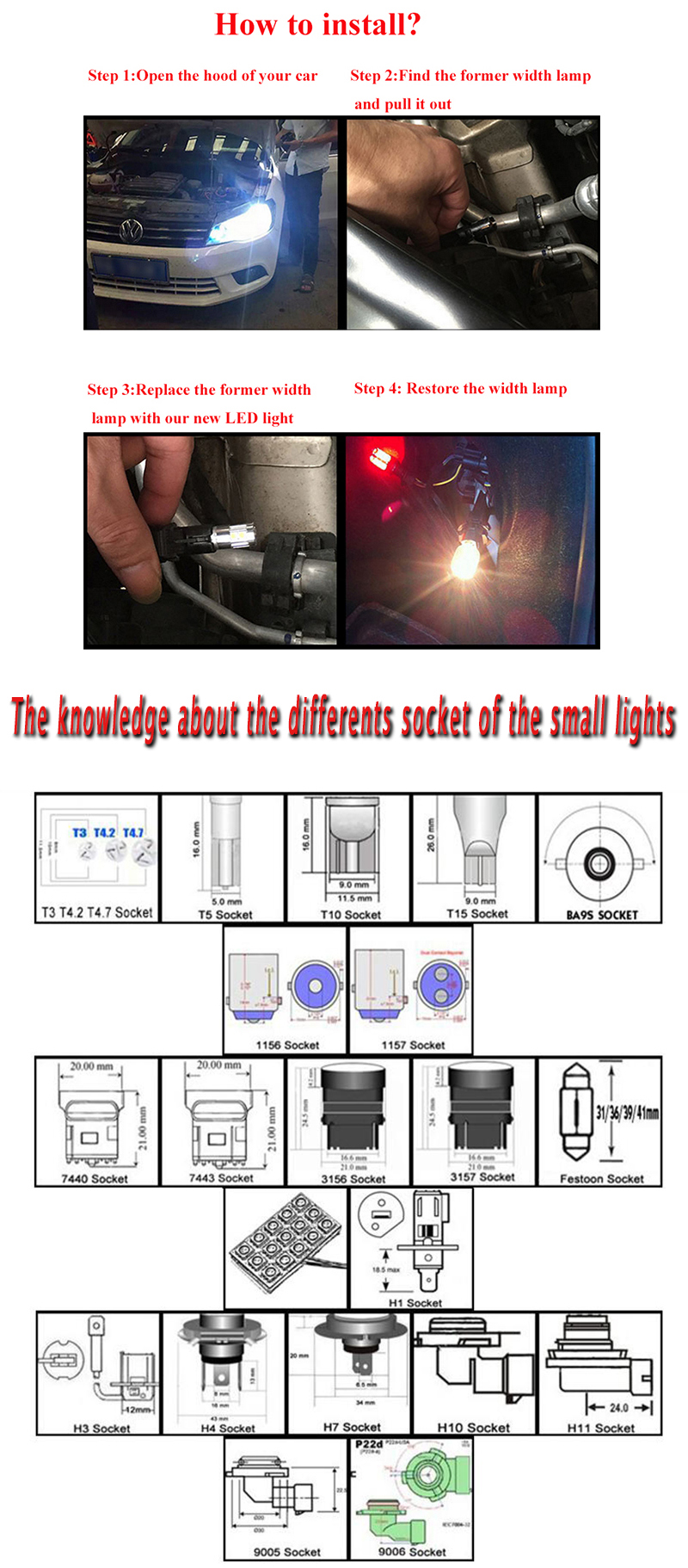 Best quality promotional 1156 1157 3156 3157 7440 7443 led bulbs with best service and low price