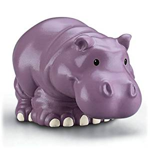 Fisher Price - Little People Zoo Talkers, Hippo - Adorable, Interactive