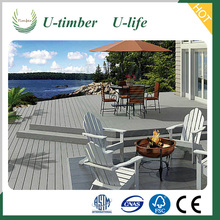 Latest Decking Technology Co-Extrusion WPC Decking