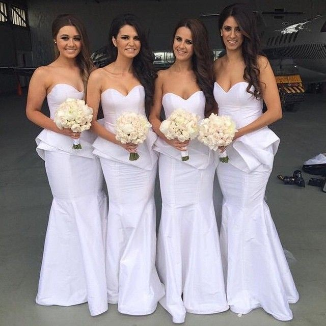 New Cool Wedding Dresses Maid Of Honor And Bridesmaid Dresses