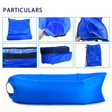 2018 Sleeping Bean Bag Summer Promotion Inflatable Sofa Bed For Beach