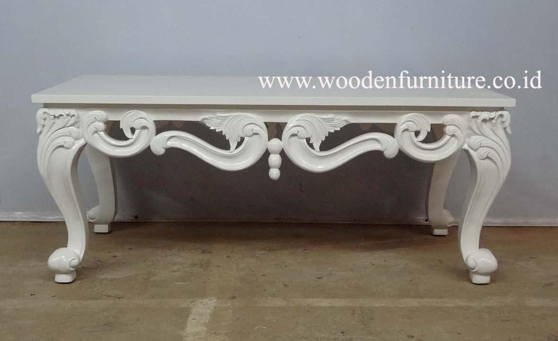 Vintage style européen table à thé reproduction antique table ...
