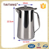 Hotel restaurant used equipment stainless steel water cooling kettle tea pots