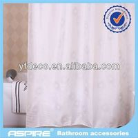 Polyester periodic table of chemical element shower curtain