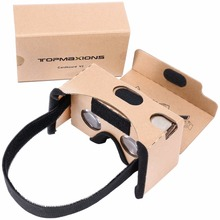 3D Virtual Reality Headset untuk VR 360 video & <span class=keywords><strong>film</strong></span> <span class=keywords><strong>kompatibel</strong></span> dengan Android, iOS smartphone dalam 3.5-6 inches