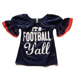 Girls Game Day Mesh Bell Sleeve Jersey