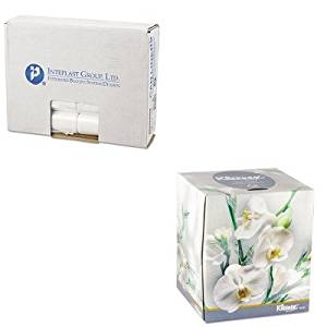 KITIBSEC242406NKIM21269 - Value Kit - KLEENEX BOUTIQUE 21269 Facial Tissues in Floral box, 8.6quot; x 8.4quot; (KIM21269) and Integrated Bagging Systems EC242406N Clear 6 Mic High Density Can Liners, 24quot; x 24quot; (IBSEC242406N)