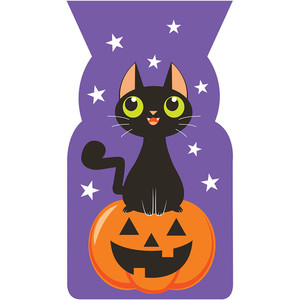 Halloween Christmas paper gift bags party favor cookie candy treat bag