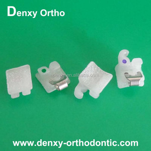 Orthodontic brackets de autoligado dental self ligation braces