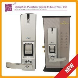 Digital door lock with three ways pass,fingerprint door lock