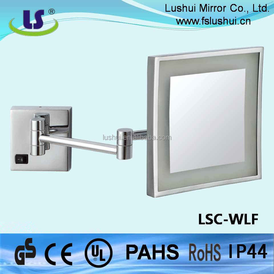 Daily use cosmetic mirror with led light