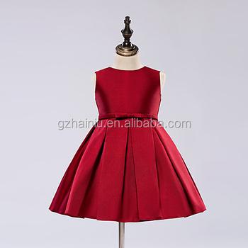 Girls Silk Dress