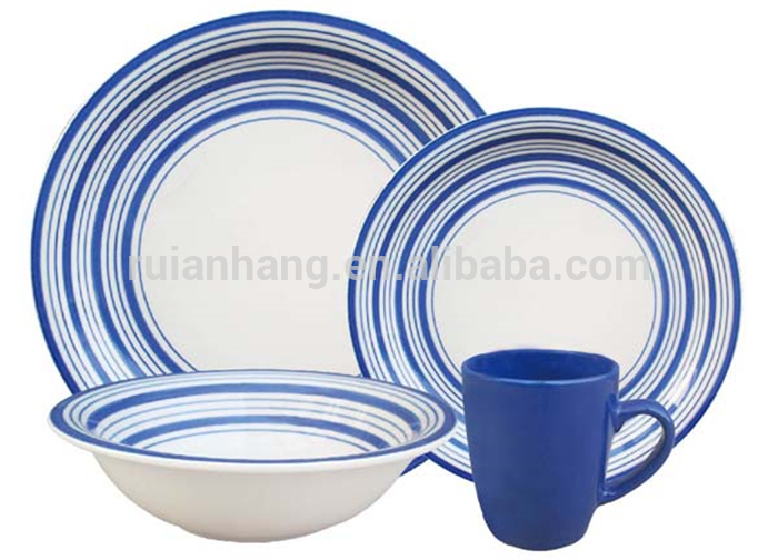 2016 hot sale chinese striped ceramic stoneware dinnerware set  sc 1 st  Vet Research & List Manufacturers of Chinese Dinnerware Set Buy Chinese Dinnerware ...