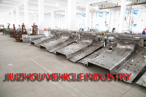 Used VOLVO truck cabin parts, truck floor board