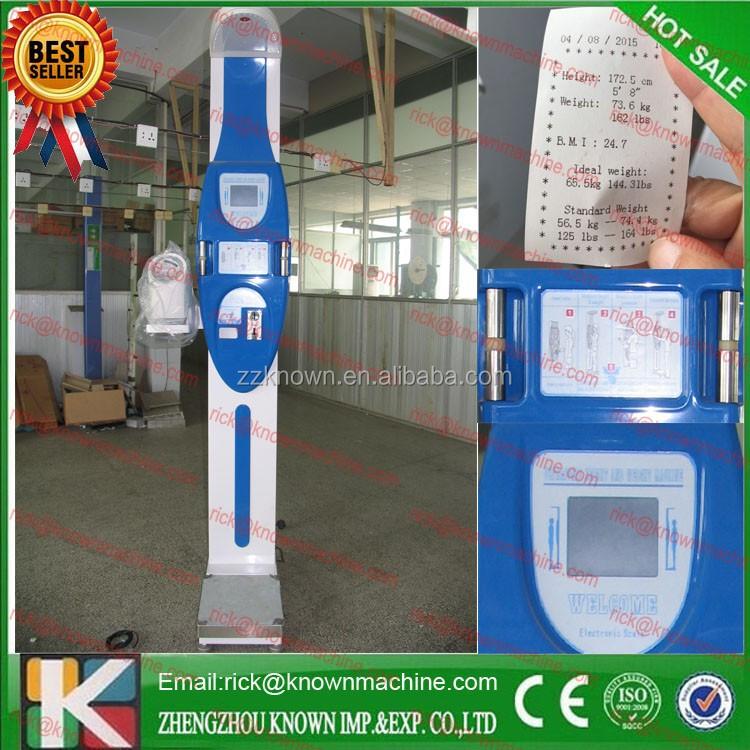 weight measuring machine