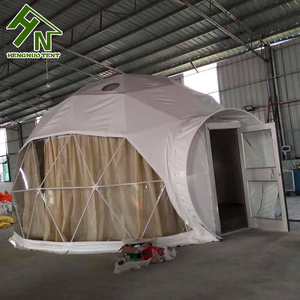 New Type Eco-friendly Transparent Roof Top Geodesic Dome House Tent