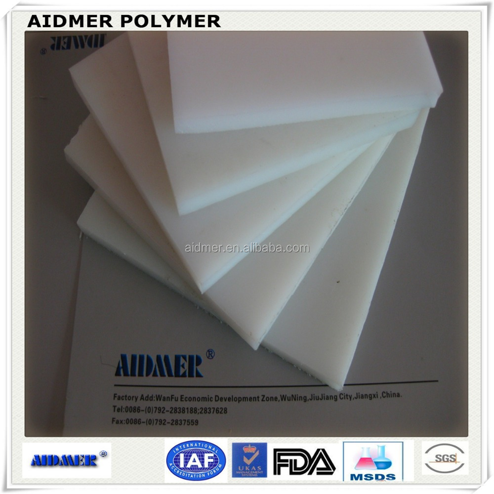 White NYLON PA6 SHEET