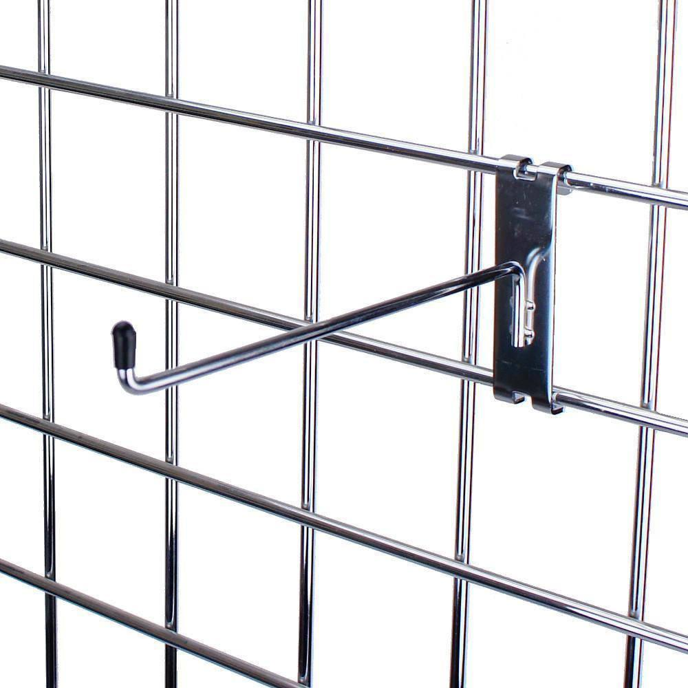 wholesale chrome-plated metal  grid Hooks