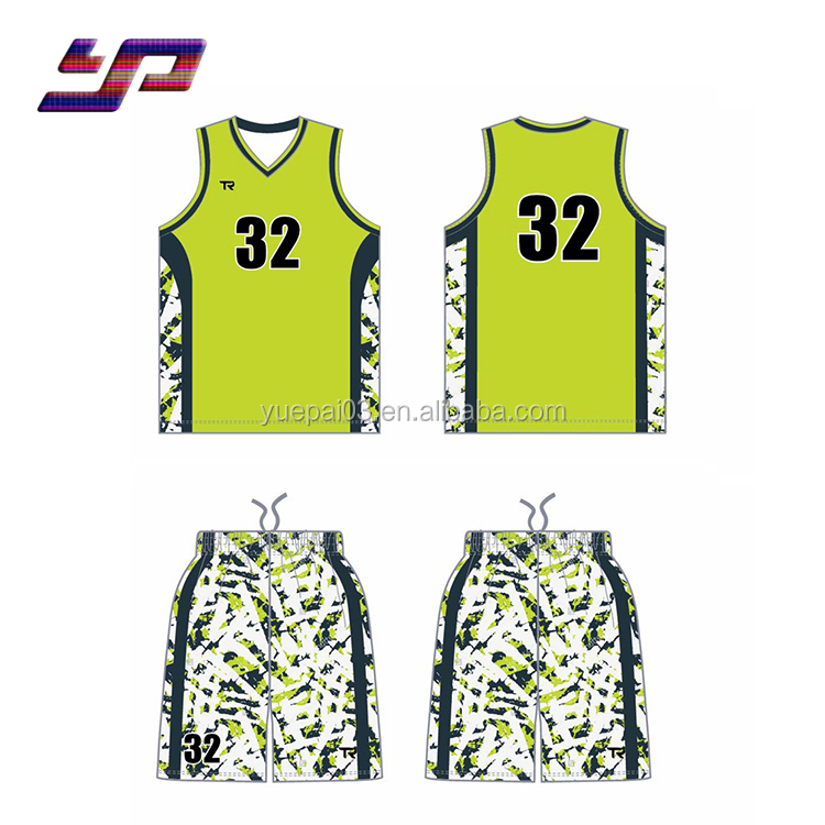 2018 Custom College Günstige neueste Basketball Jersey Design 2018 nationale Basketball Jersey Uniform