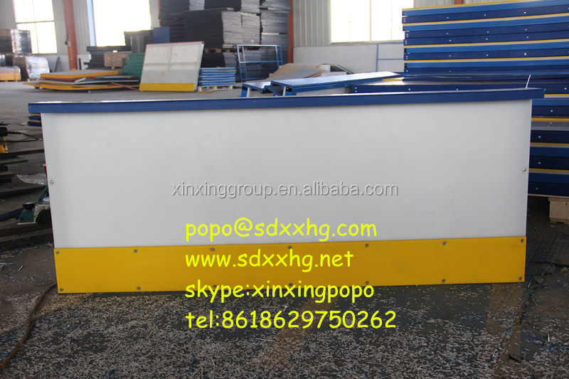 Arena Style HDPE Backyard Hockey Rink Barrier And Ice Hockey Dasher Boards