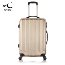 Durable funny big lots ABS PC semi finish luggage
