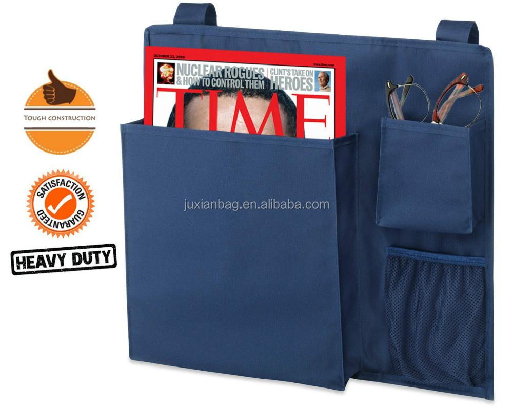 Bedside Pocket Organizer / Bedside Storage Caddy