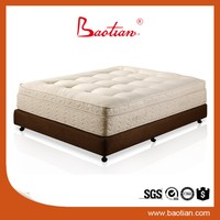 Baotian Furniture Indian cotton MATTRESS for 5 star hotel
