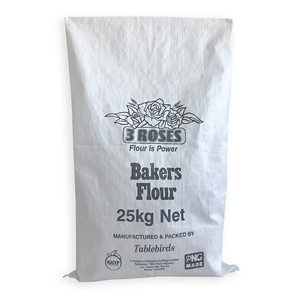 EGP PWB-4 Polypropylene white flour packaging sacks pp woven bag 10kg 25kg 50kg