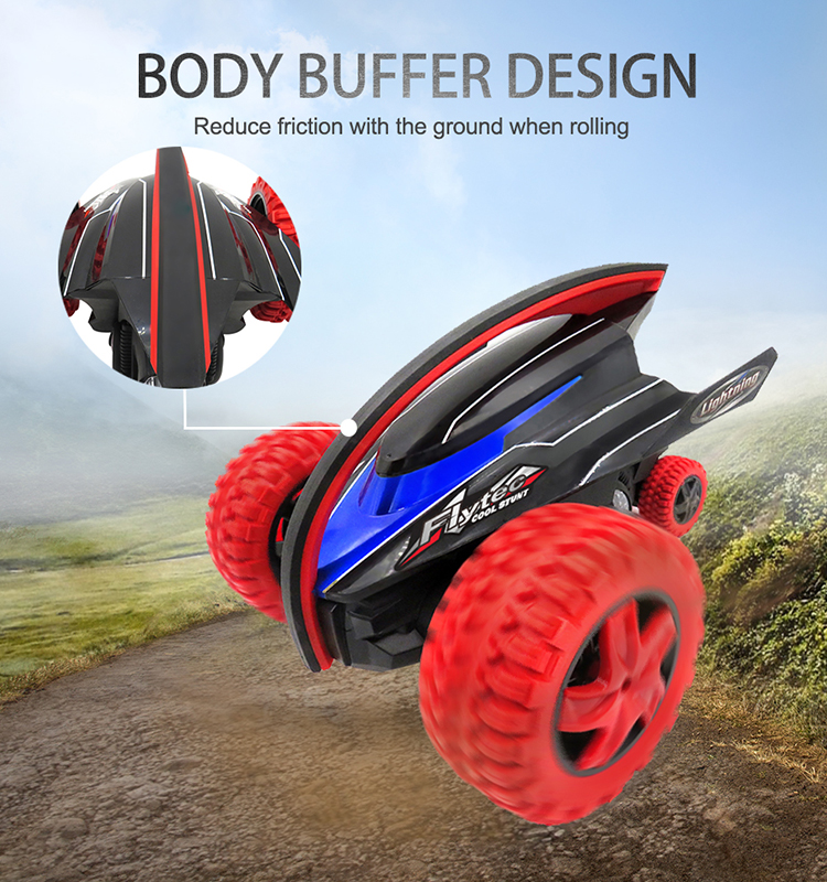 Flytec 015 Kid Car Electric With Remote Control Monster Rock Defender Remote Control Car Red