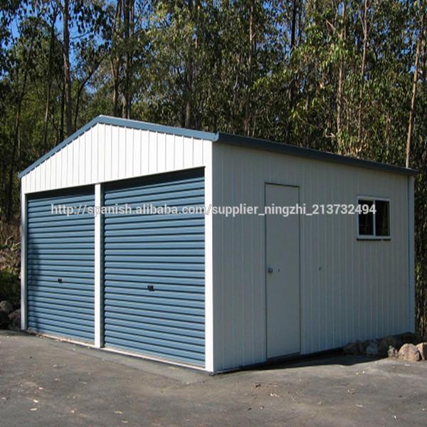 Garage prefabricado plazas de garaje de acero garaje - Garaje de coches ...