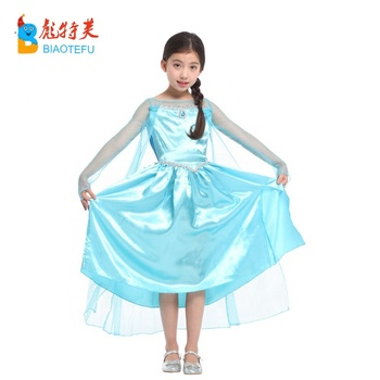 8e2af8bba3d336 hot sale sexy children carnival party cosplay princess elsa costumes frozen  elsa fancy dress for girls