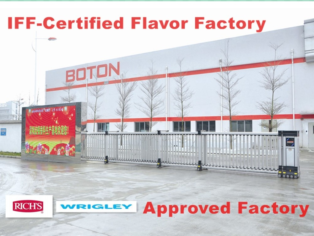 Flavour house Approved by IFF,Mondelez,Wrigley,Kraft,Mars,Richs