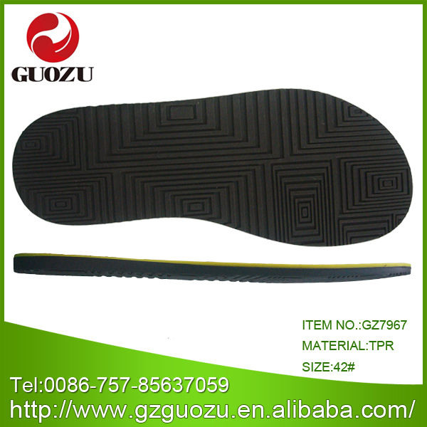 men summer leather sandals sole