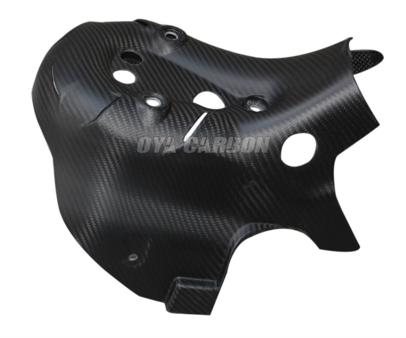 Carbon Fiber Exhaust Cover for Ducati 1199 Panigale 2013