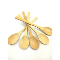 Alibaba wholesale bamboo cutlery set eco-friendly wooden spoon knife fork with high quality