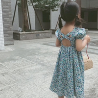 Girl Dresses Summer 2019 New European and American Children's Dresses wholesale children clothing