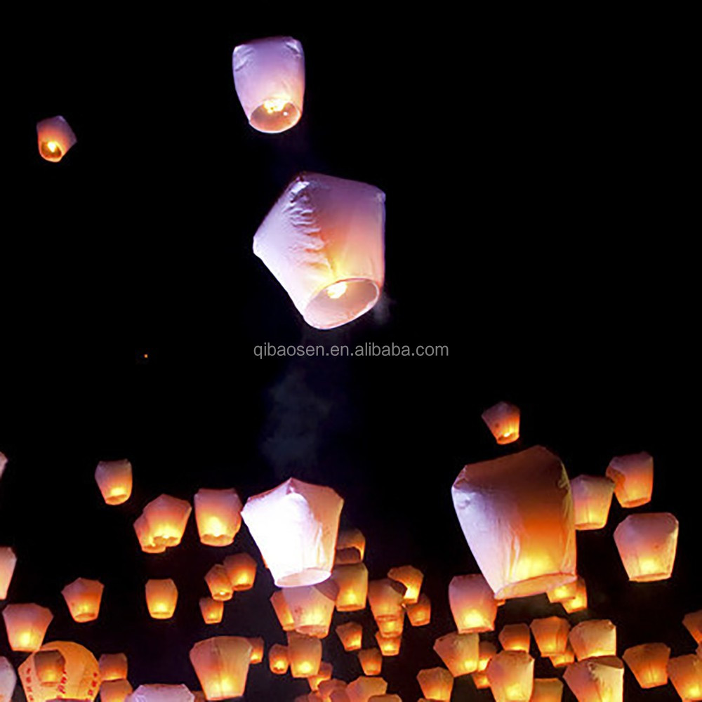 New Products 2016 Weddings Happy Birthday Party Decorations Sky Lanterns Wish Balloons Kongming