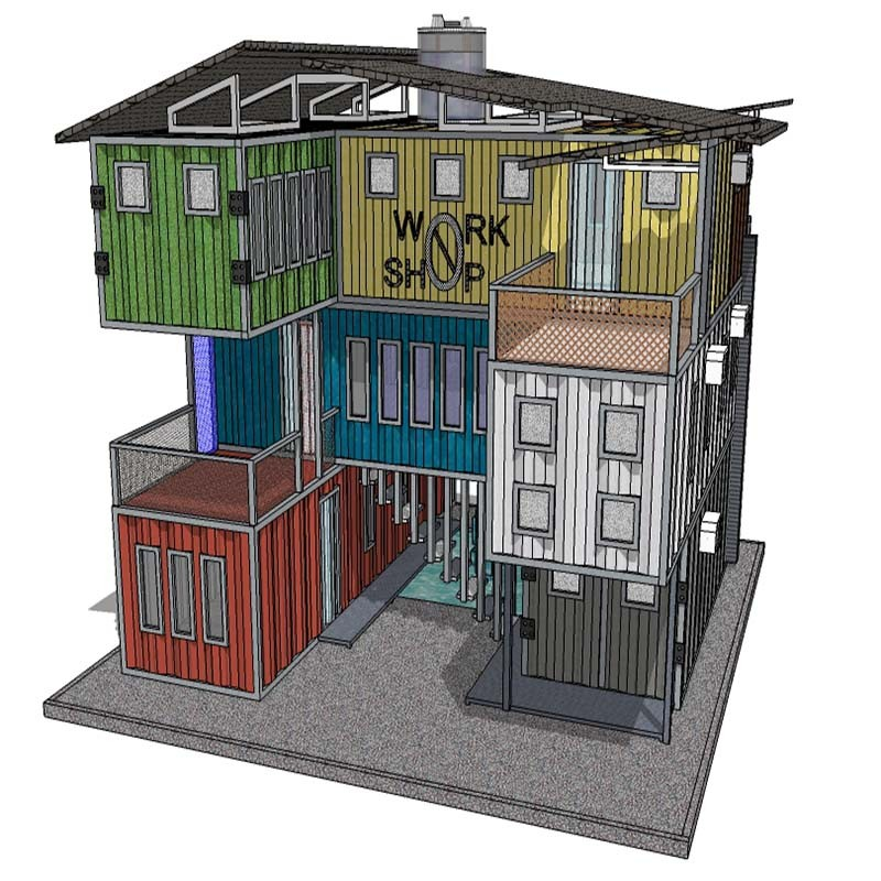 Container Home Design Ideas: 40 Ft Shipping Container House Floor Plans