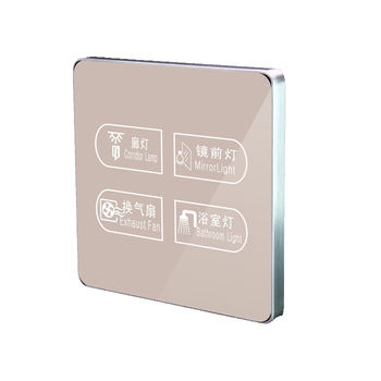 Hotel / Home Automation Light Wifi Switch Smart Touch Light Switch with APP Control